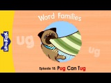 Word Families 18: Pug Can Tug | Level 1 | By Little Fox