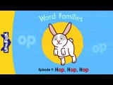 Word Families 9: Hop, Hop, Hop | Level 1 | By Little Fox