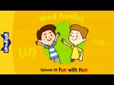 Word Families 20: Fun with Hun | Level 1 | By Little Fox
