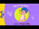 Word Families 13: Pig in a Wig | Level 1 | By Little Fox