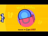 Word Families 14: Can It Fit | Level 1 | By Little Fox