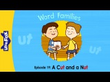 Word Families 19: A Cut and a Nut | Level 1 | By Little Fox