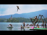 Extreme Russian Swing Flips into a Lake! Daredevils
