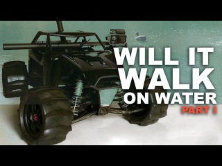 EXTREME YETI XL AXIAL | WILL SHE FLOAT? PART 1