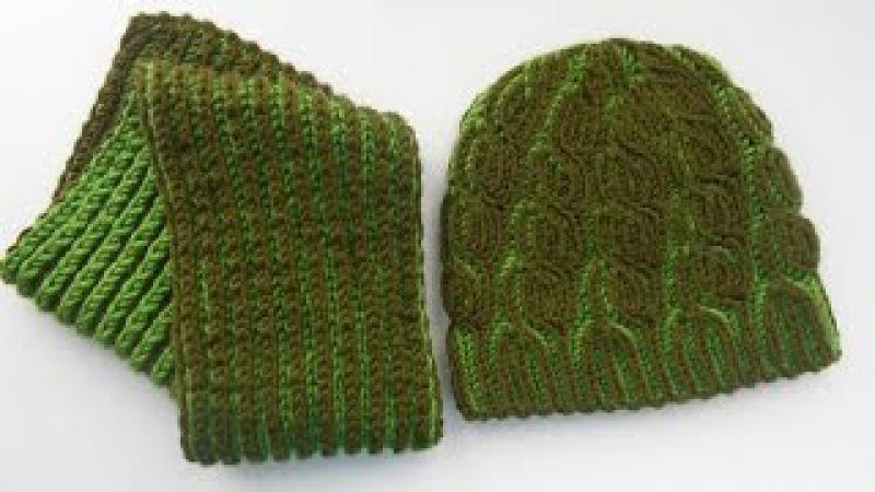 Шапка и шарф для мальчика. Бриошь. Часть I - Hat and scarf for the boy. Brioche. Part I