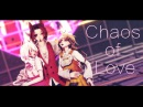 MMD FNAF Chaos of Love Foxy Chica Mangle