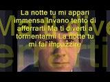 LA NOTTE Salvatore Adamo Lyric (Learn italian singing)