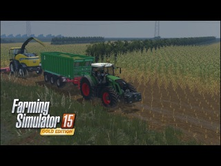 FS15 |Noerdliche Gegenden V2| Уборка силоса BGA Часть 3 | Maize silage BGA Part 3
