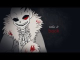 Sans  Lullaby for a sadist Undertale AU Horrortale GMV