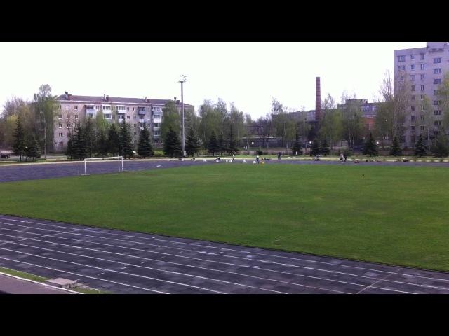 Чемпионат города Рыбинск 20-21 мая 2017. Финальный забег среди мужчин на 200 метров.