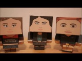 WynonnaEarp - Wayhaught Paper Craft Dolls