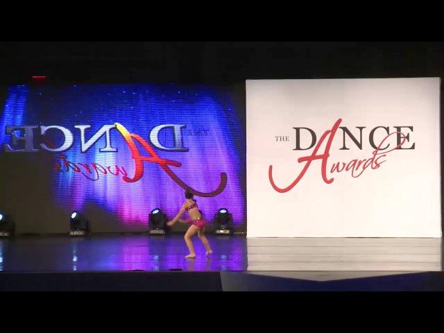 Alysa Owen Burnin Up Jazz solo 2015-2016 Dance Awards