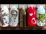 Слайдеры. Наклейки. Скотч для ногтей. Необычные дизайны на ногтях. Прямая трансляция по маникюру!