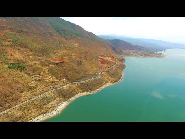 Родина спирулины - озеро Ченхай (Цинхай)