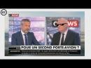 Asselineau met en PLS Macron et Fillon sur C NEWS