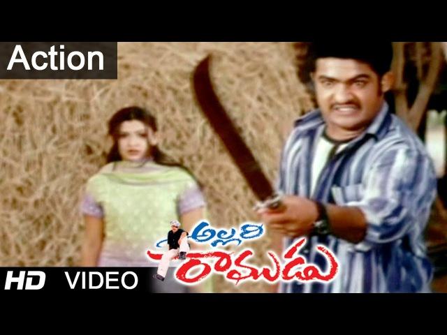 Allari Ramudu Movie Scenes | Fight Between Jaya Prakash Assistant Jr. N.T.R