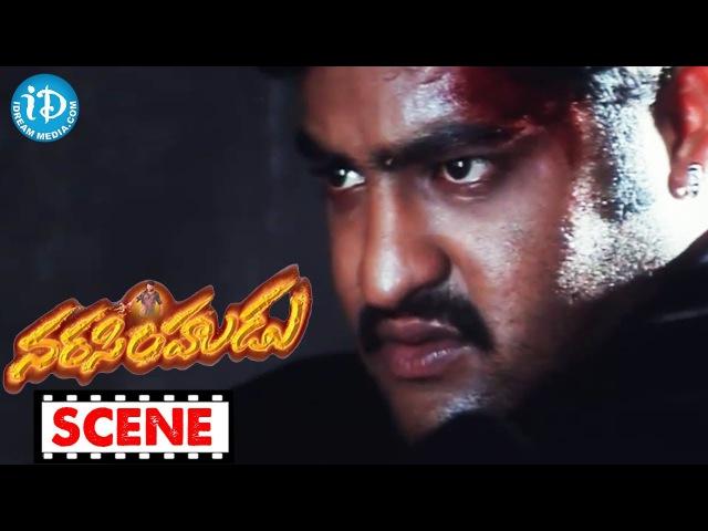 Jr NTR, Ashish Vidyarthi, Jaya Chitra Action Scene - Narasimhudu
