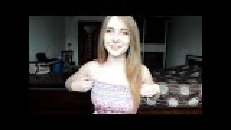 La chica rusa canta Pablo Alborán - Recuérdame cover - Alissa