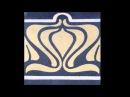 ART NOUVEAU TILES JUGENDSTIL FLIESEN 1900 modern times Villeroy Boch a o