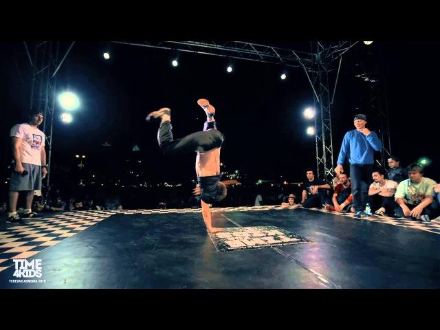 Deny Rock vs Gipsy vs Mah | Powermove Final | Time4Kids 2015