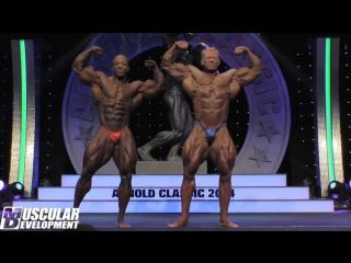Arnold Classic 2014 - Dennis Wolf vs. Shawn Rhoden