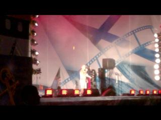 Концерт в честь дня ВМФ 2016 г. Санкт-Петербург Офицеры Олег Газманов