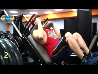 ТОП 10 упражнений на ноги