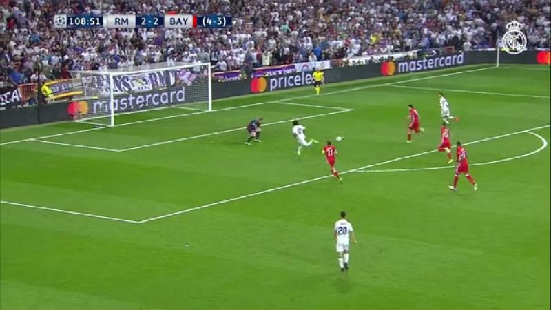 Обзор матча   Лига Чемпионов (1/4)   Реал Мадрид - Бавария (4-2) [6-3] 2-й матч   18.04.2017