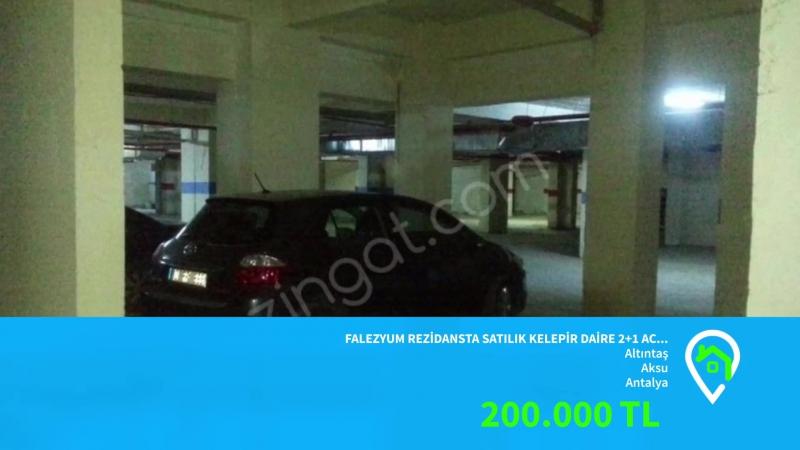 Falezyum rezidansta satılık daire 21 havaalanı yakını lara güzelobada