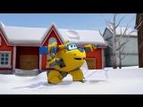 Супер Крылья: Джетт и его друзья - 43. Снежный день