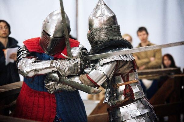 Региональный турнир по историческому фехтованию в доспехах