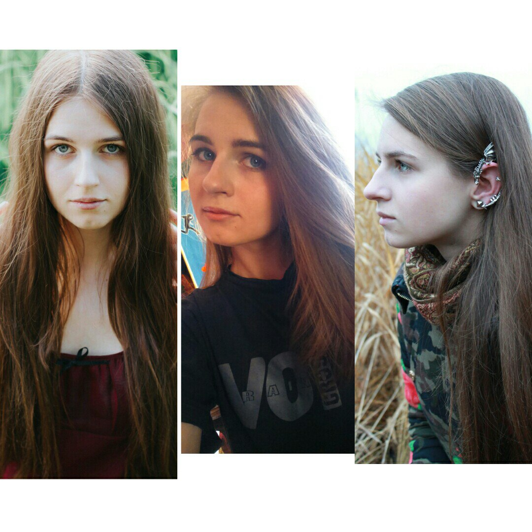 Desnudo ruso chicas ojo azul