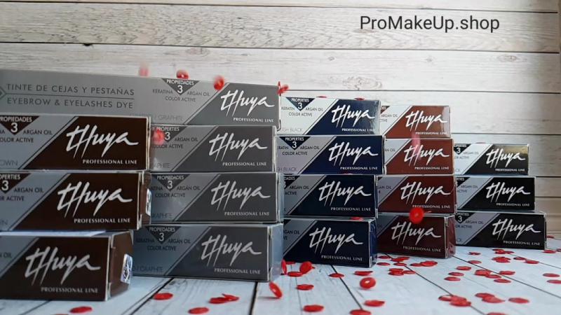 Краска для бровей и ресниц Thuya | Promakeup.shop Thuya