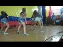 """Танец девочек 3 отряда.Лагерь""""Заря"""".4 смена.2016 год"""