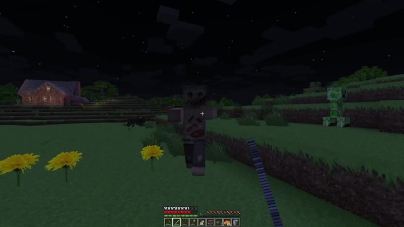 КАК сделать ПОРОХ в Minecraft ؟ Охота на крипперов!