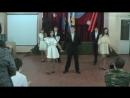 Конкурс Песня в солдатской шенели , выступление 8 Б класса