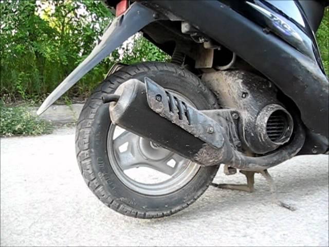 Обзор скутера Honda Tact af 30