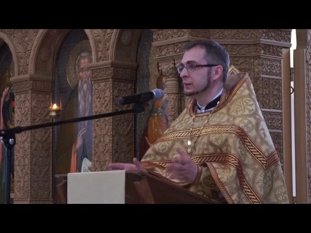 2017-06-25 Проповедь о. Алексея Волчкова на (Мф 6, 22-33):