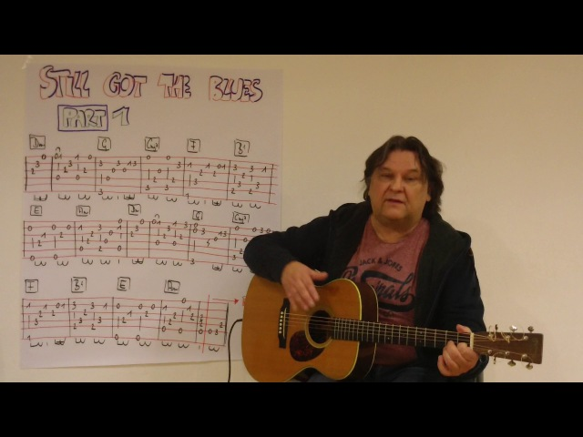Fingerstyle Guitar Lesson 143: STILL GOT THE BLUES (Gary Moore) / PART 1
