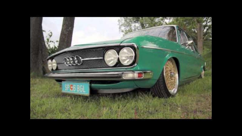 Audi 100 on Worthersee 2k14