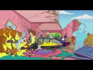Cимпсоны - Рика и Морти в ГОСТЯХ у СИМПСОНОВ