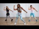 Popsugar - Cardio Dance Party to Burn Calories (Nicole Steen ) | Танцевальная кардио-тренировка для сжигания калорий
