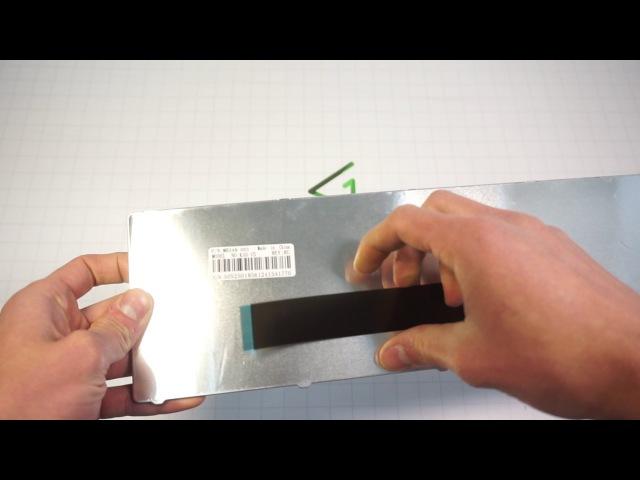 Арт 002178 Клавиатура замена ремонт для ноутбука Asus K50 K60 K70 X5 series black😇