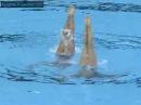 Yukiko Inui Chisa Kobayashi JPN Duet Technical Preliminary Shanghai World Championships 2011