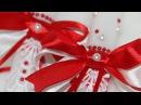 Свадебные свечи для обряда семейный очаг своими руками МАСТЕР-КЛАСС