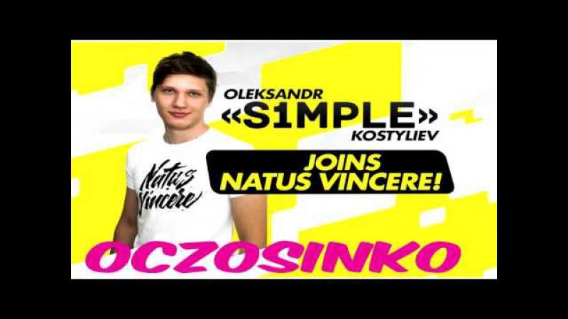 OCZOSINKO S1MPLE JOINS NATUS VINCERE