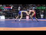 61 кг Вячеслав Ефремов (САХА) - Бекхан Гойгереев (Чечня)  Чемпионат России 2017