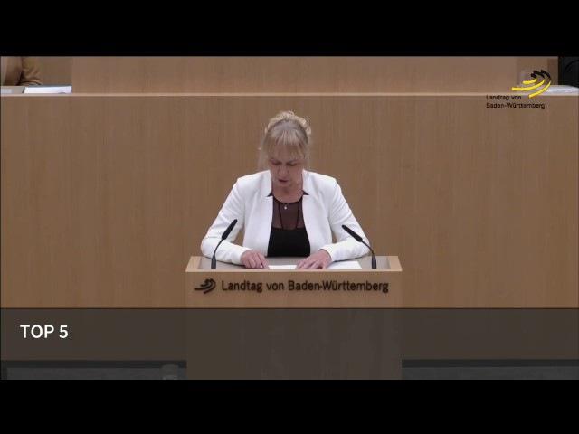 Der Bevölkerungsaustausch ist Realität. Dr Christina Baum AfD aus dem Landtag MdL