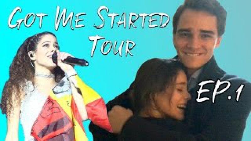 Got Me Started Tour - EP1 Comienza el GMS Tour Sorpresa a PEPE TiniYoutube | TINI