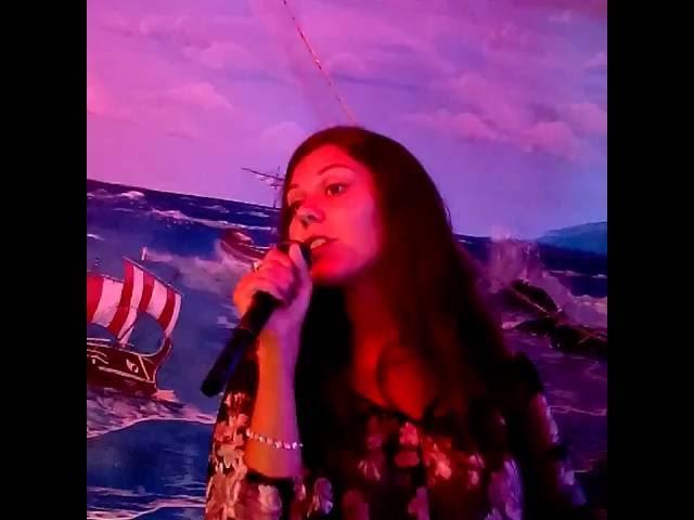 Анастасия Бабакина - Полюби меня такой (Н.Могилевская cover) Анапа, кафе Элина